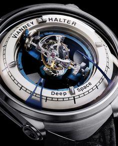 Chubster's choice : Men's Watches - Watches for Men ! - Coup de cœur du Chubster Montre pour homme ! - Vianney Halter Deep Space Tourbillon