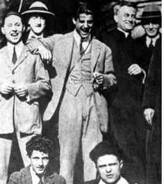 Blessed Pier Giorgio Frassati-- Pray for us! (No, he isn't the priest. He's the laughing one in the middle. Catholic Saints, Roman Catholic, Love Truths, Pray For Us, My Church, Mother Mary, Man In Love, Atheist, Trust God
