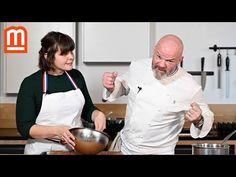 Ma recette de moelleux cœur fondant au chocolat - Philippe Etchebest - YouTube Mousse, Nom Nom, Cake, Recipes, Food, Biscuits, Molten Lava Cakes, Cooking Together, Eten