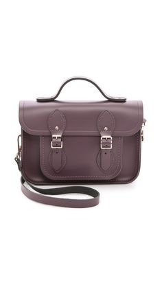 top handle satchel / cambridge satchel company