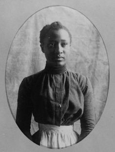 African American woman, about 1899-1900. From album: Types of American ...