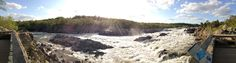 Great Falls National Park Panoramic Great Falls, National Parks, Hiking, Water, Outdoor, Walks, Gripe Water, Outdoors, Outdoor Games