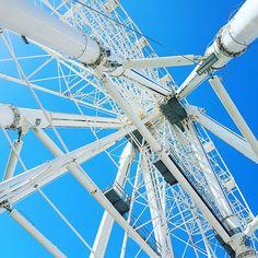 Junction. #sky #blue #Málaga #Andalucía #España #Spain