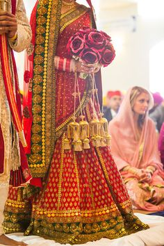 #bride #bridallehenga #lehenga #red #wedmegood