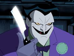 The Joker (from Batman: The Animated Series, Voiced by Mark Hamill Joker Pics, Joker Art, Joker Joker, Bruce Timm, Joker Cartoon, Dc Comics, Batman The Animated Series, Joker Animated, Retro Poster