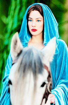 """wandamaixmoff: """" """"Arwen was the youngest child of Elrond and Celebrían. Her elder brothers were the twins Elladan and Elrohir. Her name Ar-wen means 'noble maiden'. She bore the sobriquet 'Evenstar' (or Evening Star), as the most beautiful of the."""