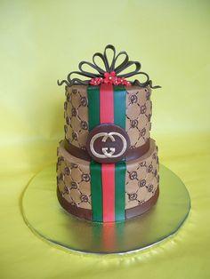 Gucci Themed Cake by CakesUniqueByAmy.com, via Flickr