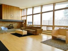 My Houzz: Original Drawings Guide a Midcentury Gem's Reinvention
