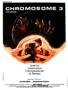 The Brood, 1979 - French poster