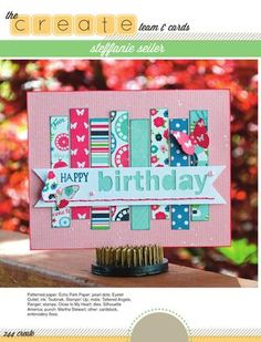 ISSUU - CREATE: Issue 14, May 2015 by Scrapbook Generation