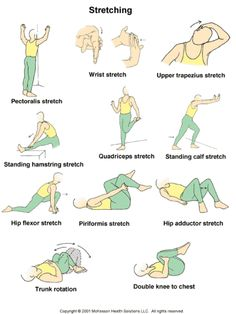 Pre-stretching exercises to do before running