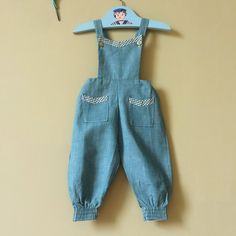 A personal favourite from my Etsy shop https://www.etsy.com/uk/listing/526905407/girls-vintage-dungarees-vintage-baby