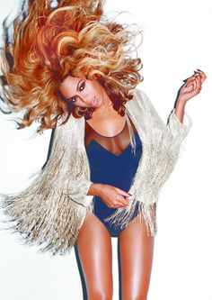 harpersbazaar:    Beyoncé's Baby Love  Terry Richardson, November 2011