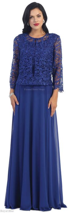 MOTHER of THE BRIDE FORMAL EVENING GOWN DESIGNER SPECIAL OCCASION DRESS CHURCH