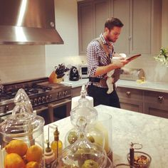Check Out Armie Hammer's Adorable Multitasking Moment With His Daughter Harper!  Armie Hammer, Elizabeth Chambers Hammer, Instagram