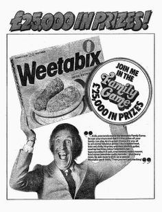 Weetabix Competition Bruce Forsyth Ad 1974   Flickr - Photo Sharing!