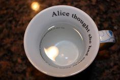 Alice mug.