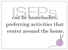ISFP   I did the test for atticus. this is what he is. haha