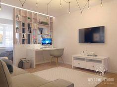 Гостиная, ракурс 2 (De Мастерская дизайна Welcome Studio)