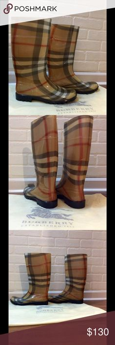 Rain boots NEW !!!!! Size 40 . Inspired NEW !!!! This is inspired but it is super close to the Real thing , no box , no tag . Only dust bag like on picture Shoes Winter & Rain Boots