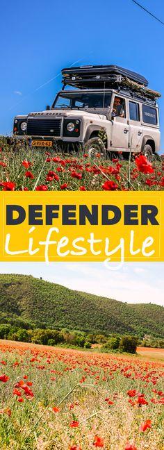 025 - Defender Lifestyle op de Bonnefooi. Podcast episode over onze reis. Hier zie je onze daktent en luifel. Let's go! | Trendbubbles.nl