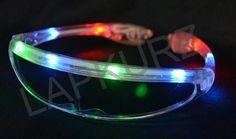 1 anteojo robot/ fest cotillón luminoso 8 led multicolor 3 funciones $48 la unidad.-