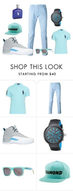 """""""polo swag"""" by raeraequanfitzgeraldparrish ❤ liked on Polyvore featuring Polo Ralph Lauren, Maison Margiela, NIKE, Lacoste and Diamond Supply Co."""
