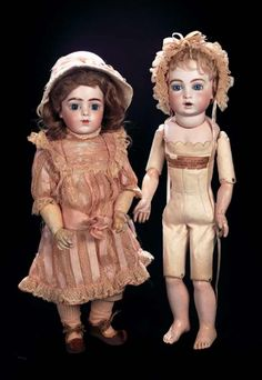 When the Circus came to Town: 226 Pretty French Bisque Bebe by Bru with Signed Bru Wooden Body