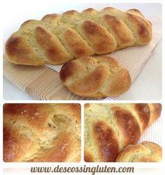 Deseos Sin Gluten: TRENZA DE PAN DULCE SIN GLUTEN