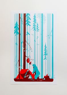 Poster by Tom Haugomat, via Behance