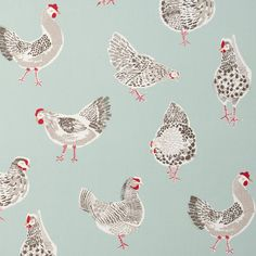 Buy Studio G F0523/02 Rooster Fabric | Sketchbook | Fashion Interiors
