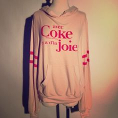 Auth Wildfox Coke Malibu Hoodie Size S NWT Brand new with tag, size S, priced to sell. No trades. No low offers Wildfox Sweaters