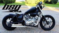 1991 XV1100 Yamaha Virago Bobber Build #2