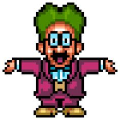 Doctor Wright - Dr. Wright - Sim City - Super Nintendo - Super Nintendo Entertainment System - Nintendo