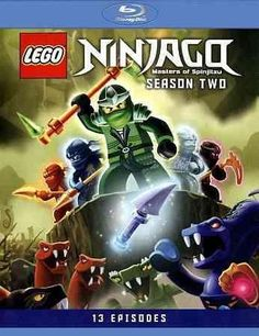 This animated adventure series for kids includes all 26 episodes from the show's second season, following the hero Ninjago as he goes toe to toe with the dark lord Garmadon, forcing the four young Spi