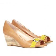 Sole Society - Peep toe wedges - Grace