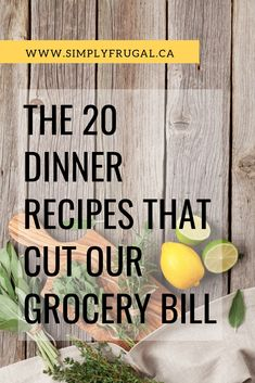 If You Want To Finally Stop Wasting Money On Groceries, I'd Encourage You To Grab Some Inspiration From Our Go-To Recipe List. It's Menu Planning On Autopilot Cooking For A Crowd, Cooking On A Budget, Easy Cooking, Cooking Recipes, Oven Recipes, Cooking Tips, Frugal Meals, Cheap Meals, Budget Meals