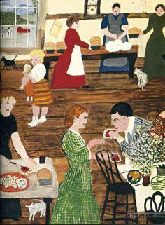 Grandma Moses Paintings      www.arts-wallpapers.com