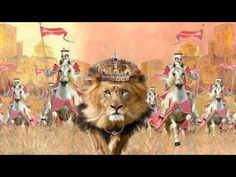 IN ALL THINGS GIVE THANKS | OUR KING IS COMING | IT WON'T BE LONG | HARPAZO AT ANY MOMENT - YouTube Tribe Of Judah, King Jesus, Jesus Is Lord, Arte Judaica, Lion And Lamb, Bride Of Christ, Prophetic Art, Lion Of Judah, Lion Art