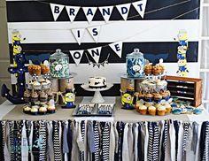 Nautical Minion Birthday Party Ideas | Photo 7 of 22 | Catch My Party