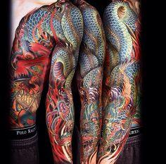 Tattoo by Jess Yen