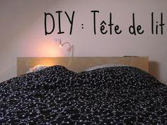 DIY : une tête de lit en 2 temps 3 mouvements! |IKEA http://lestribulationsdespipelettes.blogspot.fr/2013/05/tete-de-lit-ikea-diy.html