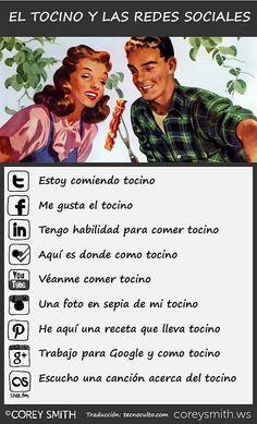 tocino y redes sociales