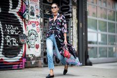 Pour Voir les Meilleurs Looks Street Style de la Fashion Week de New York, C'est Par Ici Jour 6