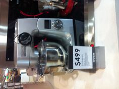 Roslyn, Myer.  Sunbeam cafe series mixer, $499.00