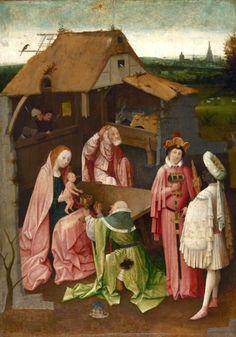 Adoration of the Magi Netherlands 1500-1510 Oil on Panel  Philadelphia Museum of Art