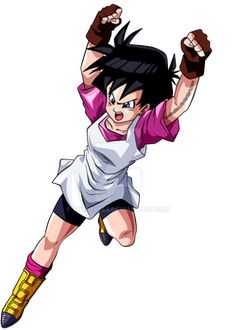 Videl (Dragon Ball Z) (c) Toei Animation, Funimation & Sony Pictures Television Animated Cartoon Characters, Manga Characters, Marvel Characters, Dragon Ball Z, Manga Anime, Manga Art, Videl Dbz, Dbz Gohan, Videl Cosplay