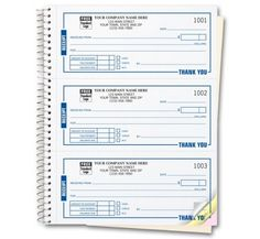 "Invoice Books Custom Beauteous Compact Job Invoice Forms Item No211 Size 5 23"" X 8 12 ."