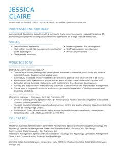 choose template my perfect resume