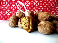 Winter ~ St. Nicholas ~ Golden Walnut